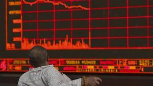 Ölpreise fallen, Aktien in Asien im Minus
