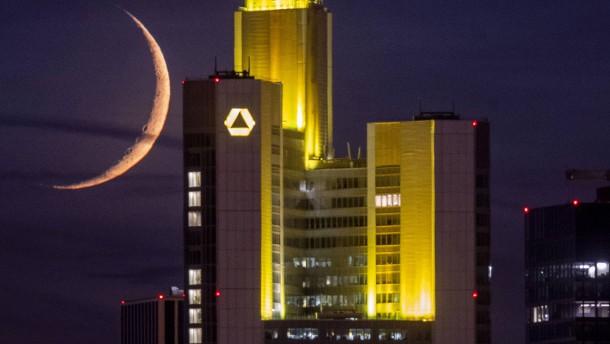 Commerzbank zieht bei Negativzinsen die Zügel an