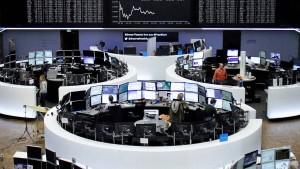 Deutsche Aktien auf Jahreshoch