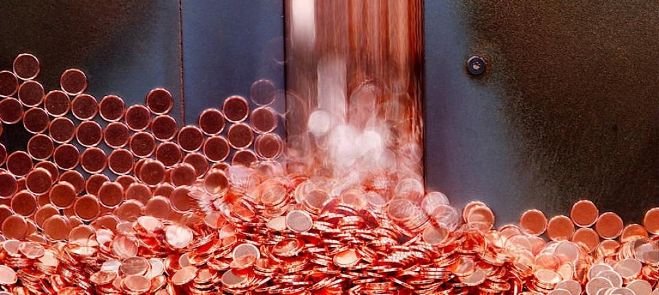Herstellung Von Kupfermünzen Kleines Geld Große Probleme