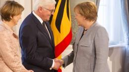 Steinmeier will Merkel als Kanzlerin vorschlagen