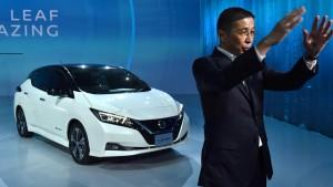 Nissan kämpft um den Vorsprung bei den Elektroautos