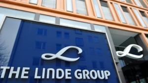 Linde-Aktie verliert nach gesenkter Prognose