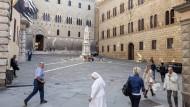 Nur scheinbar eine Trutzburg: Die Zentrale von Monte dei Paschi in Siena
