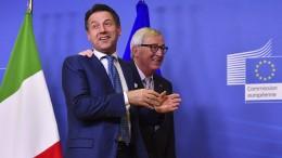 Aussicht auf Einigung im Etatstreit macht Italien-Anleihen beliebt
