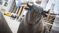 Die Märkte stehen am heutigen Mittwoch im Zeichen des Bullen.