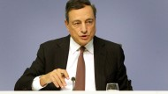 Mario Draghi, Präsident der Europäischen Zentralbank (EZB), spricht während der EZB-Pressekonferenz in Frankfurt am Main.