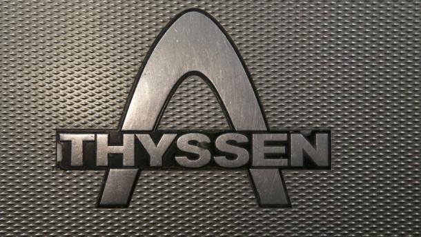 Weniger Entlassungen in italienischem Thyssen-Krupp-Stahlwerk
