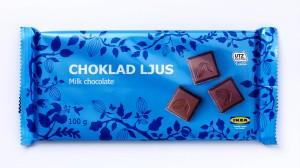Wo Milchschokolade draufsteht, können zumindest Spüren von Haselnüssen enthalten sein, warnt Ikea.