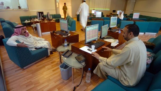 Riad will Börse für Ausländer öffnen