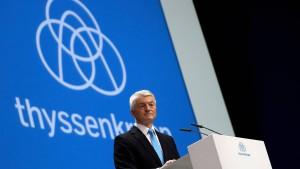 Thyssen-Krupp will mit höherer Dividende besänftigen