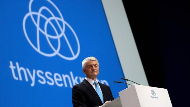 Macht ein Hedgefonds Thyssenkrupp Beine?