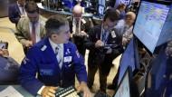 Finanzwelt tappt vorübergehend im Dunkeln