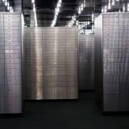 Geldspeicher: Schließfächer im Tresorraum einer Bank