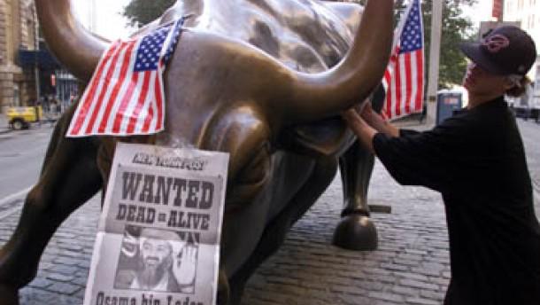 Dow Jones mit minus 4,3 Prozent auf Talfahrt