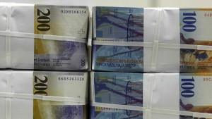 Kurzfristige Konsolidierung des Frankens