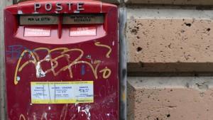 Italiens Post soll auch an die Börse