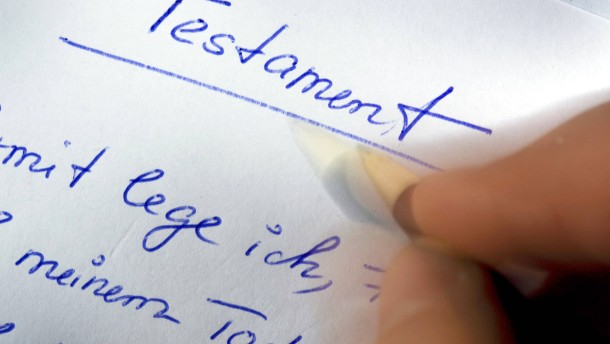Das Single-Testament stellt besondere Ansprüche