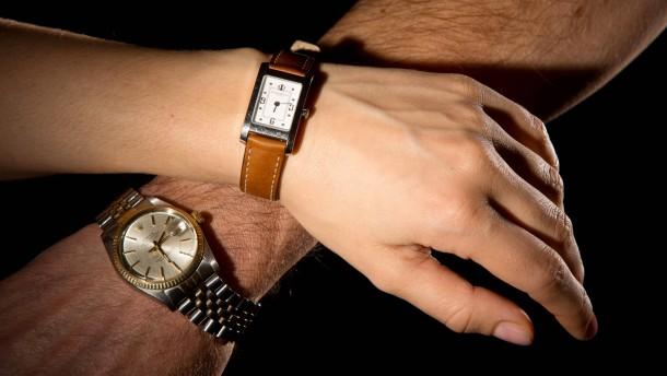 Meine Frau, mein Auto, meine Uhr