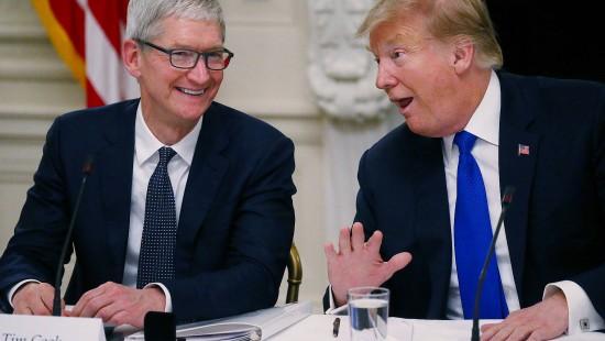 "Trump: Vielen Dank, ""Tim Apple""!"