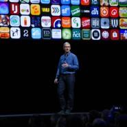 """Apple-Chef Tim Cook ist """"sehr optimistisch"""" für die Zukunft."""