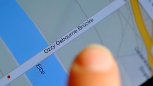 Die Ozzy-Osbourne-Brücke bei Dresden