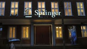 Springer Science strebt aufs Parkett