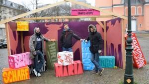 Siebte Graffiti-Krippe entsteht in Wuppertal