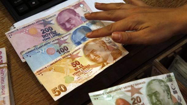 Türkische Lira zeigt weiter Stärke
