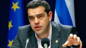 Tsipras informiert Parlament über Finanzhilfe-Verhandlungen