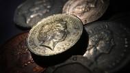 Hat verloren: Das britische Pfund