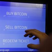Bitcoins handeln am Automaten der Firma Robocoin.