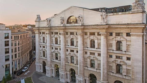 LSE verlangt für Italiens Börse bis zu 3,7 Milliarden Euro