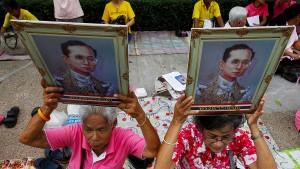 Thailands Wirtschaft leidet mit dem König