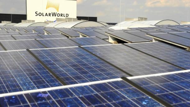 Optimismus treibt Solarworld-Aktie