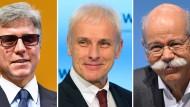Bill McDermott (SAP), Matthias Müller (Volkswagen) und Dieter Zetsche (Daimler) gehören zu den bestverdienenden Dax-Vörständen.