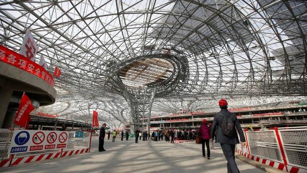 China will 2019 weltgrößten Flughafen eröffnen