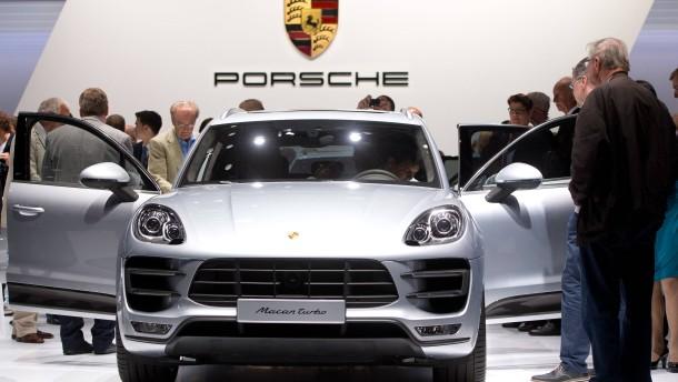 Macan hält Porsche in Amerika auf Wachstumskurs