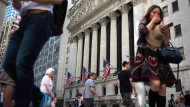 Auf Rekordkurs: die Wall Street in New York