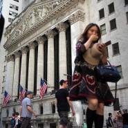 Auf Rekordkurs: die Wall Street in New York