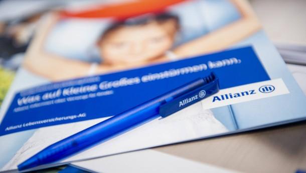 Allianz will künftig höhere Dividende auszahlen