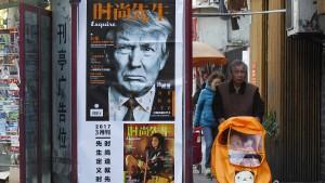 Trump will China bestrafen