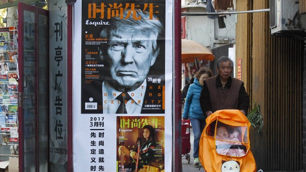 Trump will China bestrafen