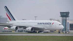 Der A380 wird für die Anleger zum Sorgenkind