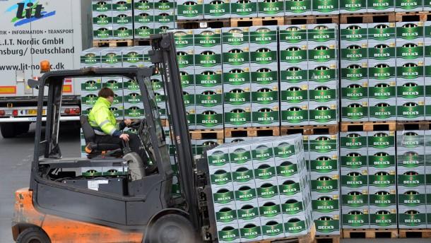 Brauereiriese mit starken Marken