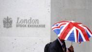 Die Londoner Börse kann aktuell nicht über Regenwetter klagen.