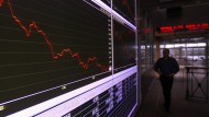 Für den griechischen Aktienindex geht es am Donnerstag nach unten.