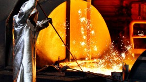Stahlaktien in der Krise