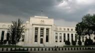 Sitz der amerikanischen Notenbank in Washington.