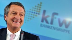 Förderbank KfW forciert ihr Auslandsgeschäft